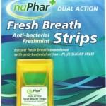 Nuphar Fresh Breath Strips